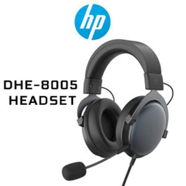 HP DHE-8005 Stereo Gaming Headset - Black offers at R 549