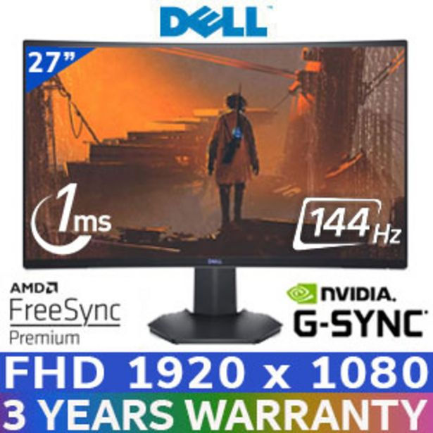 "DELL S2721HGF 27"" 144hz Gaming Monitor / DP offer at R 4999"