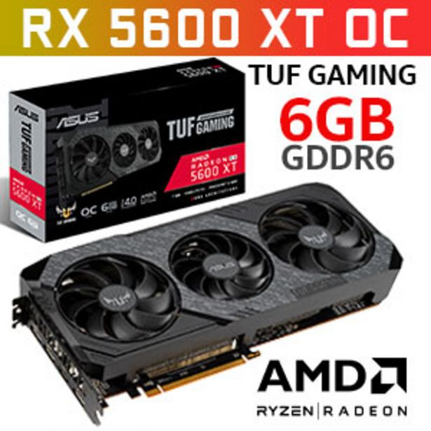 ASUS TUF 3 RX 5600 XT EVO OC Gaming 6GB Graphics Card offer at R 6499