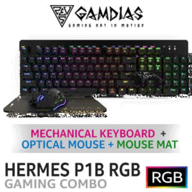 Gamdias Hermes P1B RGB 3 in 1 Gaming Combo offers at R 749