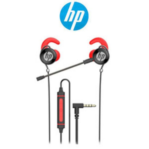 HP DHE-7004 Wired Earphone - Red offers at R 149