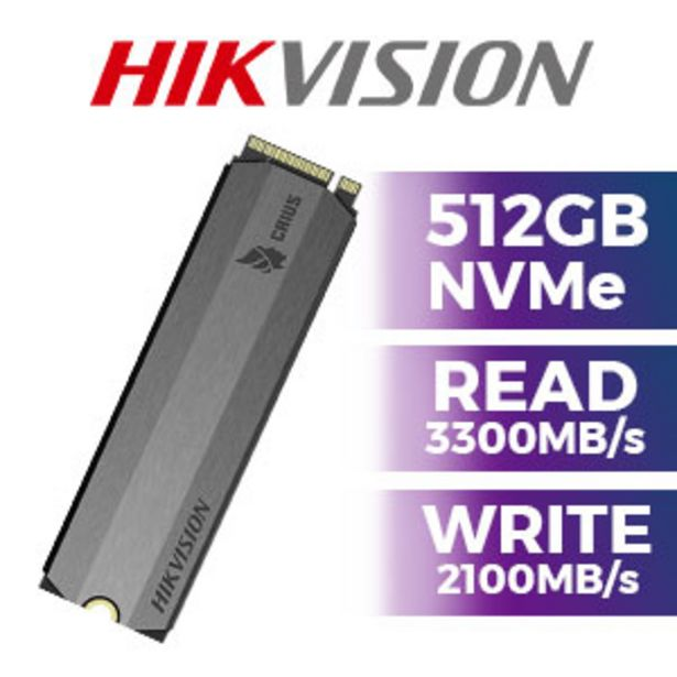 Hikvision E2000 512GB NVMe SSD offers at R 1199