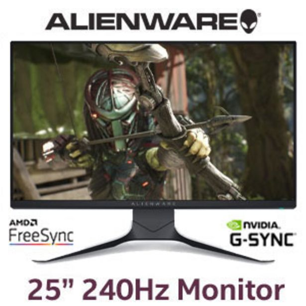 """Alienware AW2521HFLA 25"""" 240Hz Gaming Monitor offers at R 5999"""