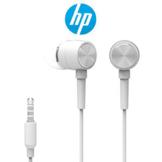 HP DHH-1111 Wired Earphone - White offers at R 59