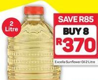 Excella Sunflower Oil 8 offer at R 370
