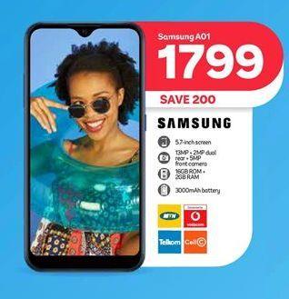 Samsung A01 offer at R 1799