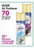 Glade Air Freshener offer at R 70