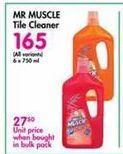 Mr Muscle Tile Cleaner offer at R 165