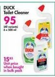 Duck Toilet Cleaner offer at R 95