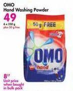 Omo Hand Washing Powder offer at R 49