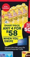 Danone Ultra Mel Custard 4 offer at R 58