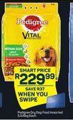 Pedigree Dry Dog Food offer at R 229,99