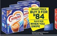 Nestle Cremora Coffee and Tea Creamer 3 offer at R 84