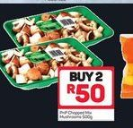 PnP Chopped Mix Mushroom 2 offer at R 50