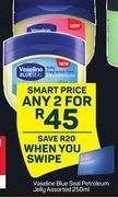 Vaseline Blue Seal Petroleum Jelly 2 offer at R 45
