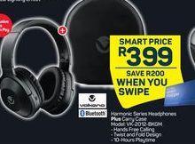 Volkano Harmonic Series Headphones + Camy Case offers at R 399