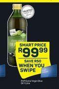 PnP Extra Virgin Olive Oil offer at R 99,99