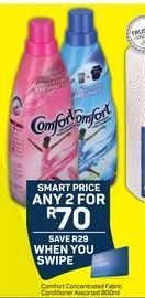Comfort Fabric Conditioner 2 offer at R 70
