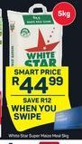 White Star Super Maize Meal offer at R 44,99