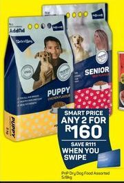 PnP Dry Dog Food 2 offer at R 160