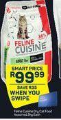 Feline Cuisine Dry Cat Food offer at R 99,99