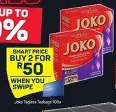 Joko Tagless Tea Bags 2 offer at R 50