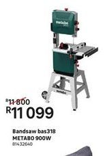 Tools Metabo offer at R 11099