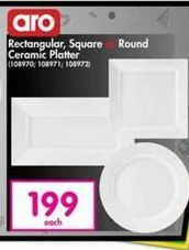 Aro Plates offer at R 199