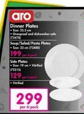 Aro Plates 6 offer at R 299