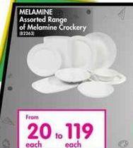 Melamine Assorted Range offer at R 119