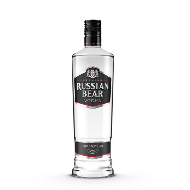 Russian Bear Premium Triple Distilled Vodka (1x750ML) offers at R 139,99