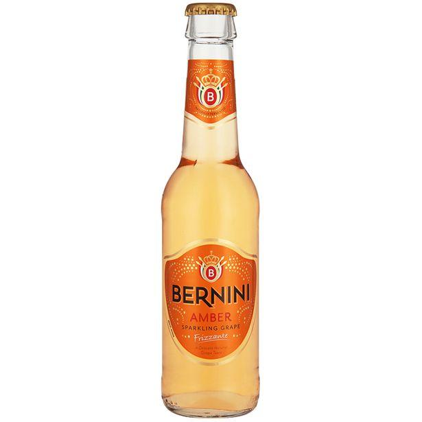 Bernini Amber Sparkling Grape Drink Non-Returnable Bottle  (24x 275ML) offers at R 199,99