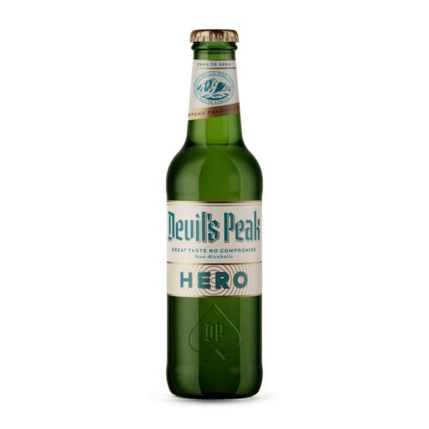 Devil's Peak Zero To Hero Non-Alcoholic Beer Non-Returnable Bottle (24x330ML) offers at R 279,99