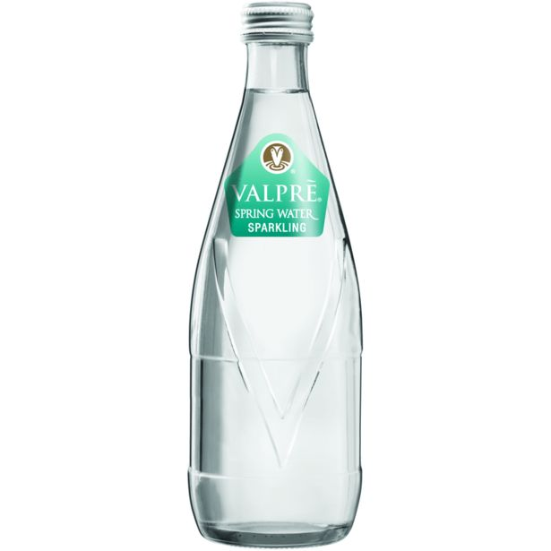 Valpré Spring Water Sparkling Non-Returnable Bottle (24x350ML) offers at R 194,99