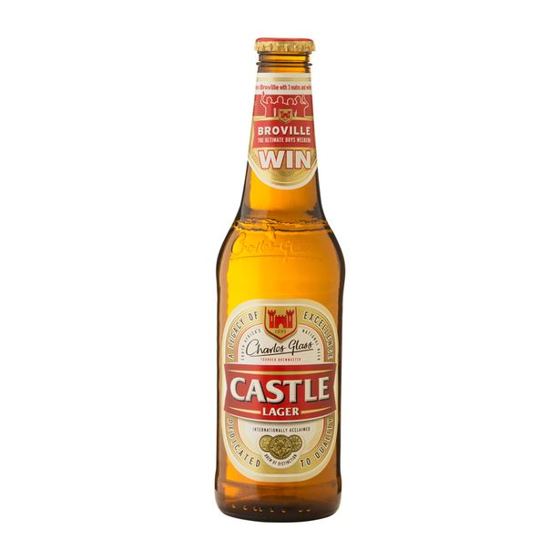 Castle Lager Non-Returnable Bottle (24x340ML) offers at R 229,99