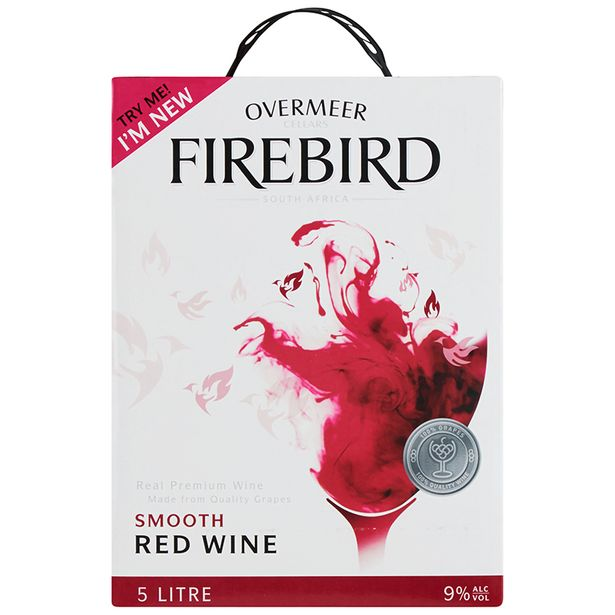 Overmeer Firebird Smooth Red (1x5000ML) offers at R 99,99
