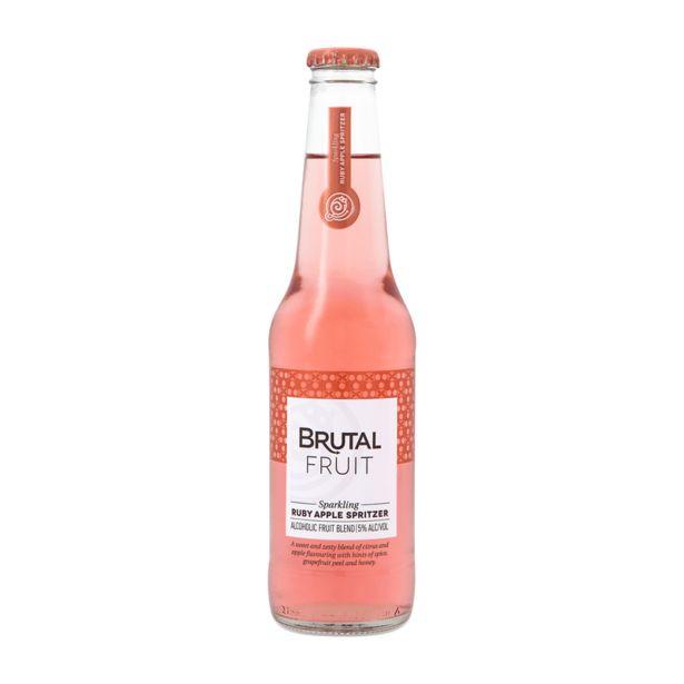 Brutal Fruit Ruby Apple Spritzer Non-Returnable Bottle (24x275ML) offers at R 279,99