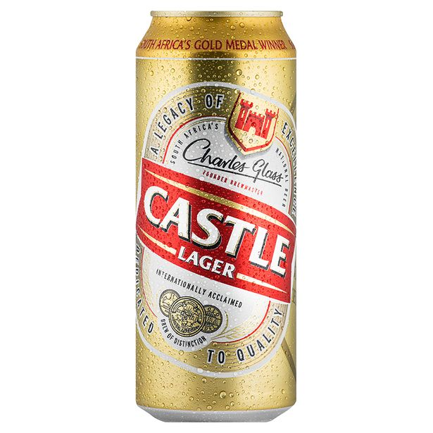 Castle Lager Can (24x 500ML) offer at R 259,99