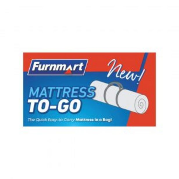 91cm Mattress To Go Single offers at R 2199