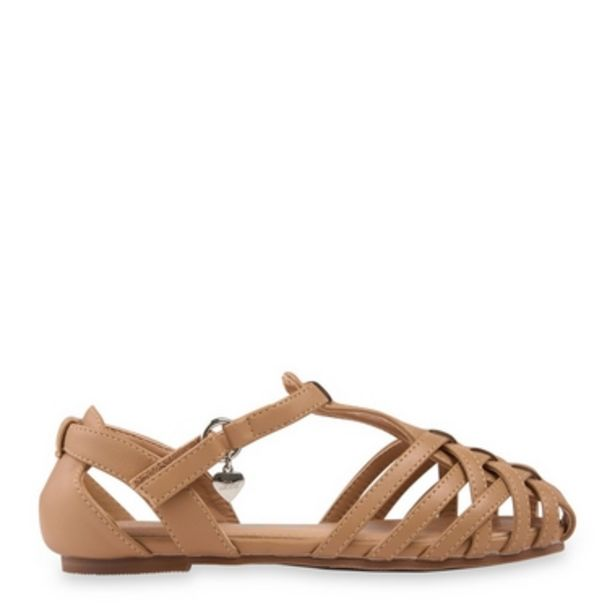 Tan Cross Over Sandal offer at R 230