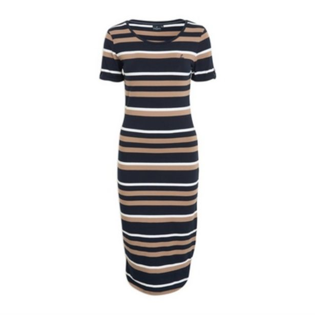 Striped Bodycon Dress offer at R 675
