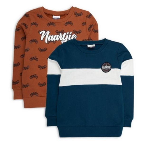 2-Pack Sweat Top offers at R 330