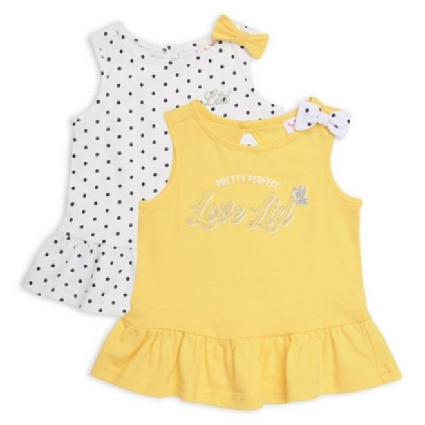 2-Pack Baby Girl Top offer at R 210