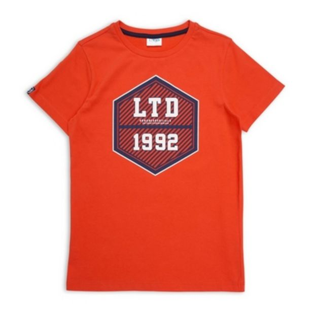 Boys Branded Tee offer at R 130