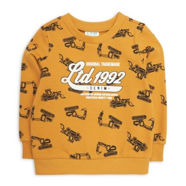Baby Boy Sweat Top offers at R 140