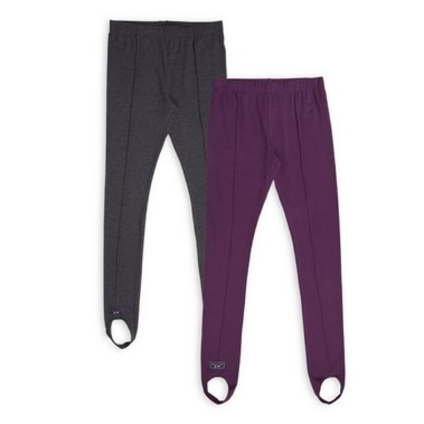 2-Pack Girls Leggings offers at R 280