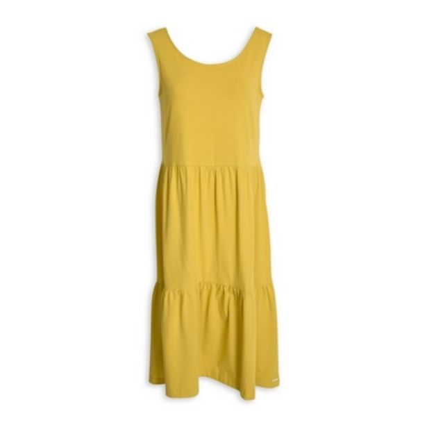 Yellow A-Line Dress offer at R 499
