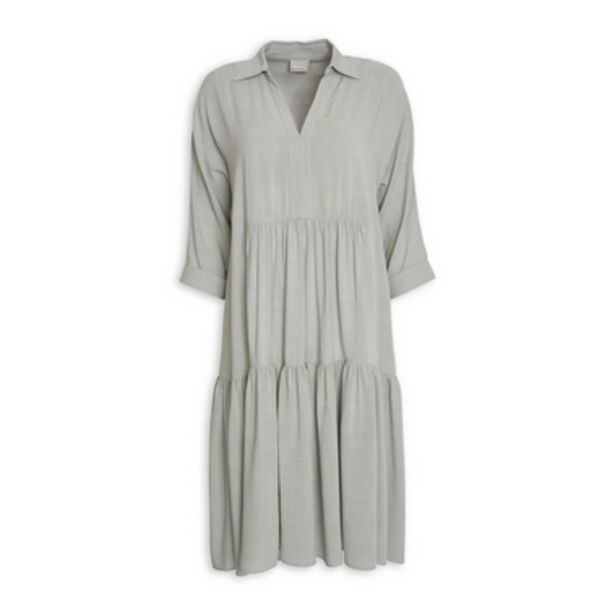 Sage Tiered Dress offer at R 999