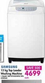 Samsung Top Loader Washing Machine offer at R 4699