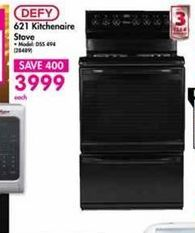 Defy Kitchenaire Stove offer at R 3999